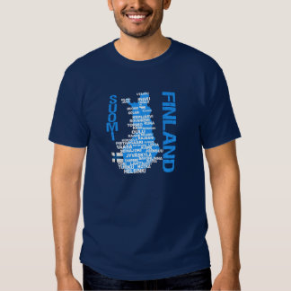 FINLAND MAP shirt - choose style & color