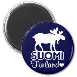Finland Moose magnet