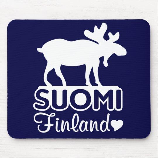 Finland Moose mousepad