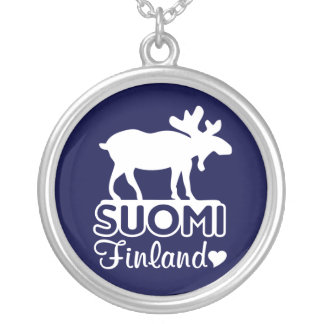 Finland Moose necklace
