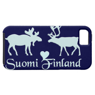 Finland Moose & Reindeer iPhone 5 Case-Mate iPhone 5 Covers