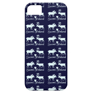 Finland Moose & Reindeer iPhone case-mate iPhone 5 Covers