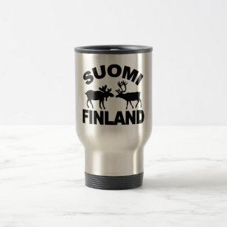 Finland Moose & Reindeer mug - choose style
