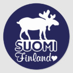 Finland Moose stickers