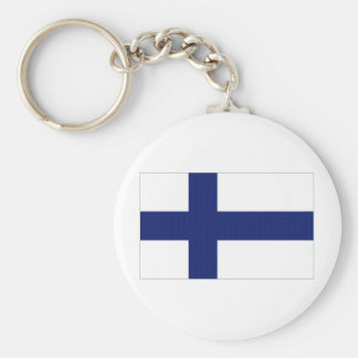 Finland National Flag Keychain