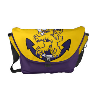Finland Navy Messenger Bag