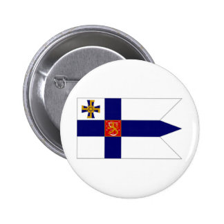 Finland President Flag Button