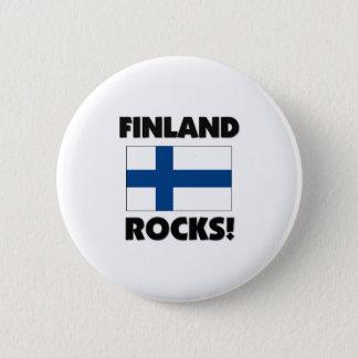Finland Rocks Pinback Button