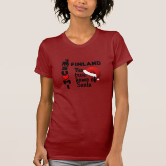 Finland Santa RED T-shirt for women