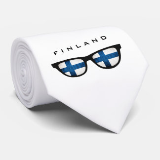 Finland Shades custom text & color tie