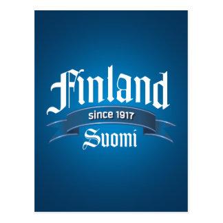 Finland Since 1917 Rev Postcard