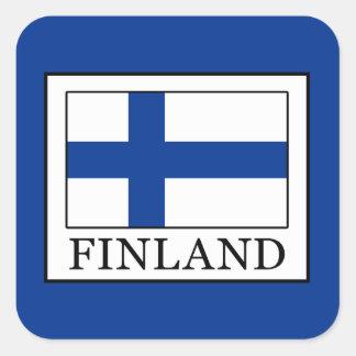 Finland Square Sticker