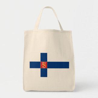 finland state tote bag