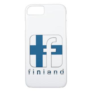 Finland Suomi Facebook Logo Unique Gift iPhone 8/7 Case