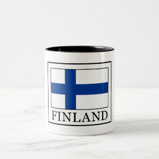 Finland Two-Tone Coffee Mug