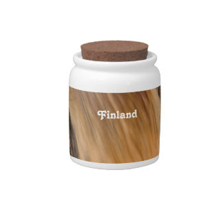 Finland Waterfall Candy Jars