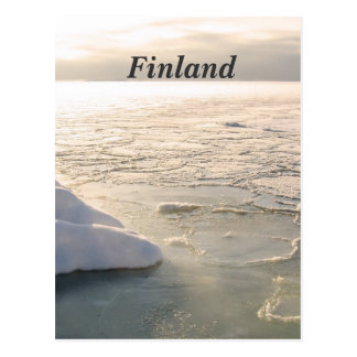 Finland Winter Postcard