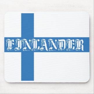 Finlander Flag Mouse Pad