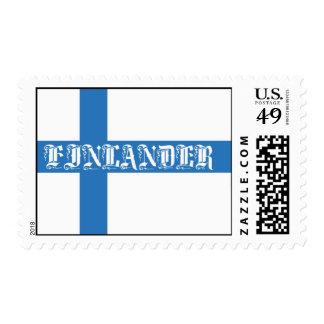 Finlander Flag Postage