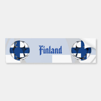 Finlandia #1 pegatina para auto