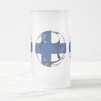 Finlandia #1 taza de cristal