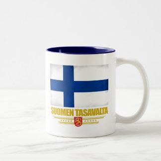 Finlandia 2 taza de dos tonos