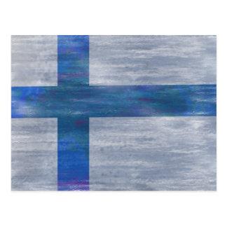 Finlandia apenó la bandera finlandesa postal