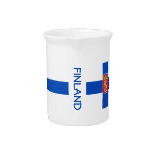 Finlandia-Bandera-clásico Jarras