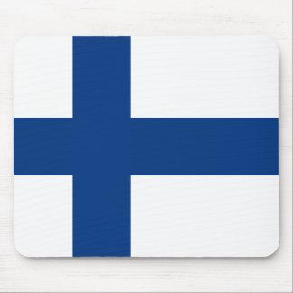 Finlandia - bandera nacional finlandesa tapete de ratones