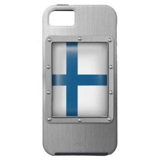 Finlandia en acero inoxidable funda para iPhone SE/5/5s