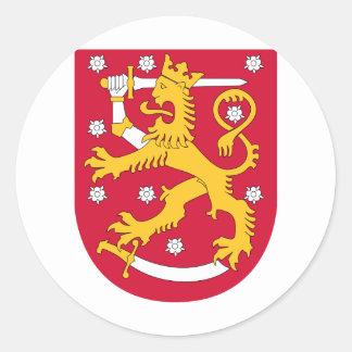 Finlandia FI Etiquetas Redondas
