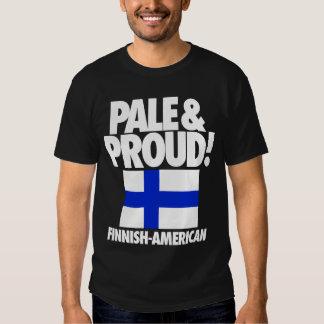 Finlandia pálida y orgullosa Finlandés-Americana Remeras