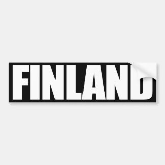 Finlandia Pegatina Para Auto