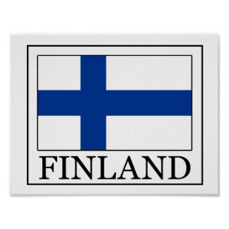 Finlandia Póster