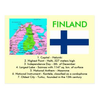 Finlandia Tarjeta Postal