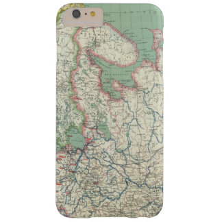 Finlandia y Rusia Funda De iPhone 6 Plus Barely There
