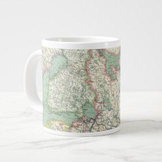Finlandia y Rusia Taza Grande
