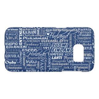 Finland's Towns phone cases