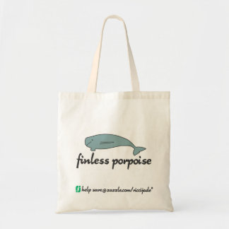 finless porpoise (not for profit) tote bag