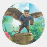 Finley Classic Round Sticker