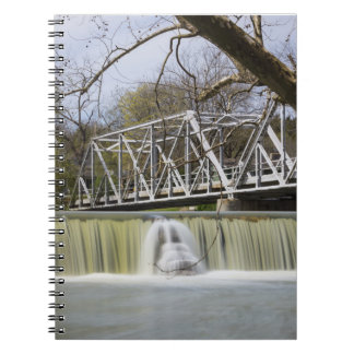 Finley Dam After The Rain Notebook