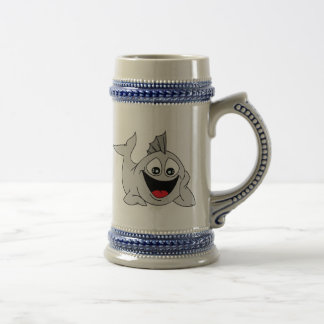 Finley the Friendly Fish Beer Stein