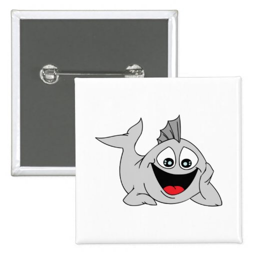 Finley the Friendly Fish Button