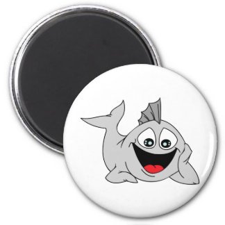 Finley the Friendly Fish Refrigerator Magnets
