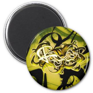 Finn 2 Inch Round Magnet