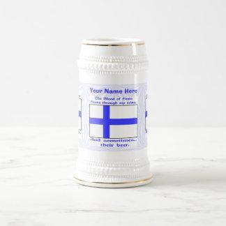 Finn Blood and Beer Beer Stein