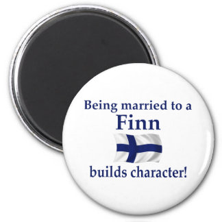 Finn Builds Character 2 Inch Round Magnet