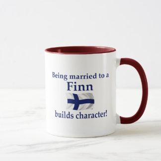 Finn Builds Character Mug