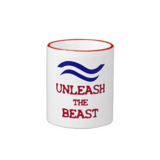 Finn Dinghy Mug - Unleash the Beast