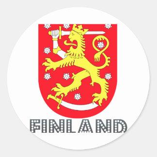 Finn Emblem Classic Round Sticker